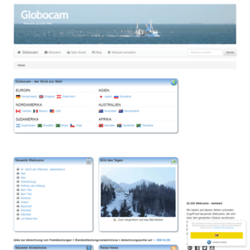 Globocam.de thumbnail