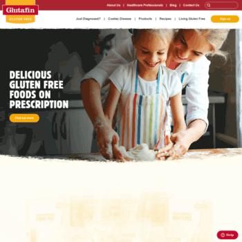 Glutafin.co.uk thumbnail