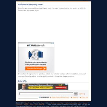 Glype-proxy.info thumbnail