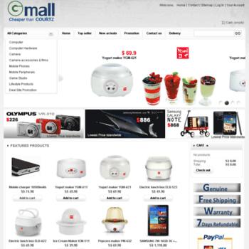 Gmall.com.sg thumbnail