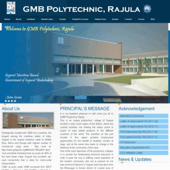 Gmbpolytechnic.in thumbnail