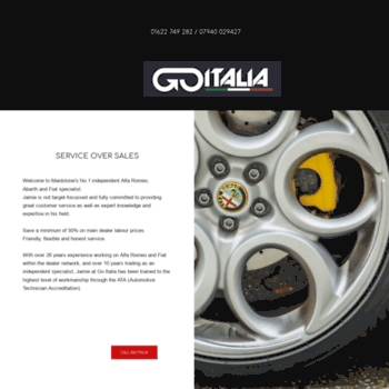 Go-italia.co.uk thumbnail