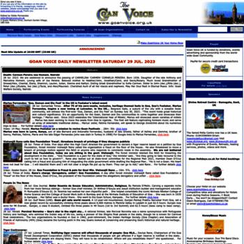 Goanvoice.org.uk thumbnail