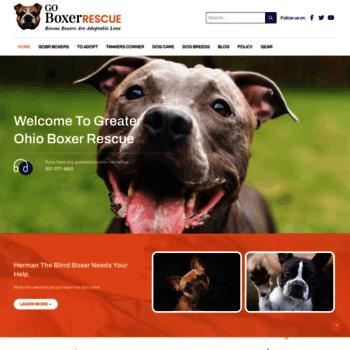 goboxerrescue com at WI  GO Boxer Rescue ~ Serving Greater Ohio