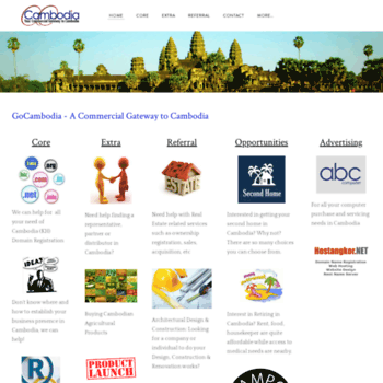 gocambodia com at WI  GoCambodia - A Commercial Gateway to