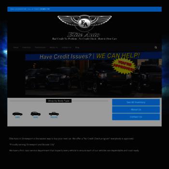 Elite Auto Credit >> Goeliteauto Com At Wi Rent To Own Shreveport No Credit