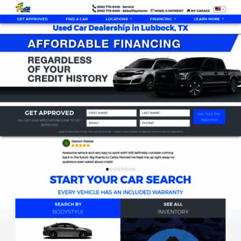 Fiesta Motors Lubbock >> Gofiestamotors Com At Wi Fiesta Motors Lubbock Tx Used
