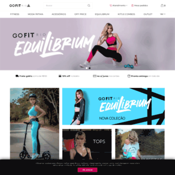 d12b03425 Gofitrio.com.br thumbnail. Go Fit Rio - Loja Online de Moda Fitness ...