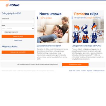72b156192fe1d3 Goh.ebok.pgnig.pl thumbnail. eBOK - Elektroniczne Biuro Obsługi Klienta w PGNiG  Obrót Detaliczny