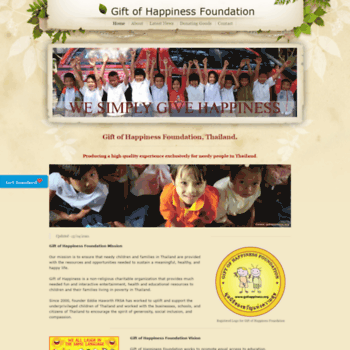 Gohappiness.org thumbnail