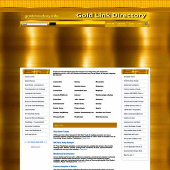 Golddirectory.info thumbnail
