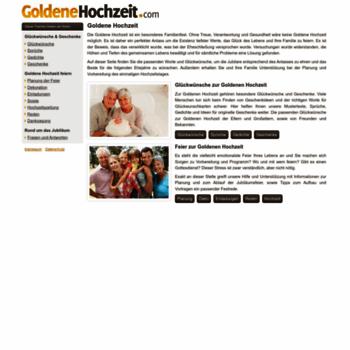 Goldenehochzeitcom At Wi Goldene Hochzeit Sprüche