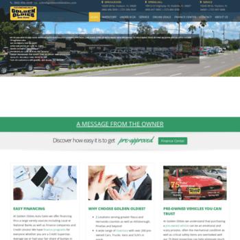 goldenoldiesauto com at WI  Golden Oldies Auto Sales Used