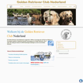 Goldenretrievers.nl thumbnail