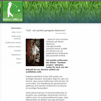 Golfers-only.de thumbnail