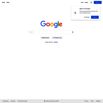 Google.ch thumbnail