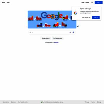 Веб сайт google.co.ma