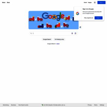 Google.dk thumbnail