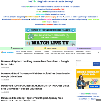 googledrivelinks com at WI  Google Drive Links For Free | Udemy