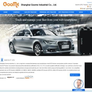 goomegpstracker com at WI  car gps tracker, personal gps