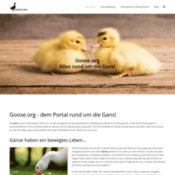 Goose.org thumbnail