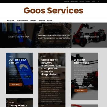 Goosservices.fr thumbnail