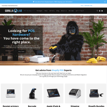 gorillalab com au at WI  Gorilla Lab | Shopify eCommerce +