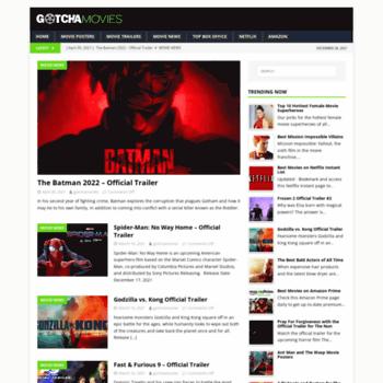 gotchamovies com at WI  GotchaMovies: Movie News, Netflix