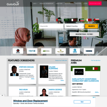 gotogulf com at WI  Jobs in Gulf, Dubai, Abu dhabi, Sharjah