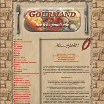 Gour-mand.ru thumbnail
