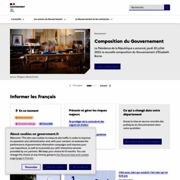Gouvernement.fr thumbnail