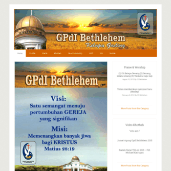 Gpdibethlehem.org thumbnail
