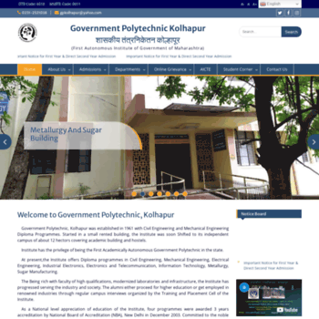 Gpkolhapur.org.in thumbnail