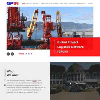 gpln net at WI  Global Project Logistics Network | For