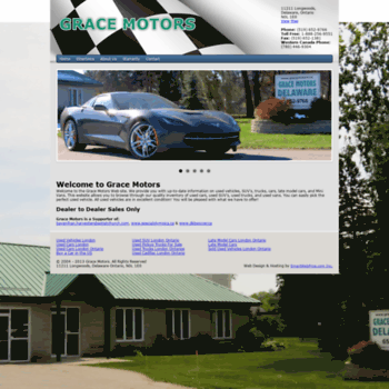 Gracemotors.ca thumbnail