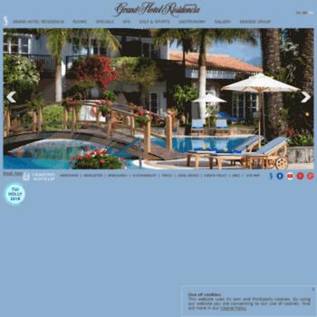 Grand Hotel Residencia Co Uk At Wi Seaside Grand Hotel Residencia