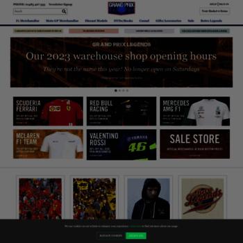 8eb0c09a1c31a grandprixlegends.com at WI. F1 Merchandise - MotoGP merchandise ...