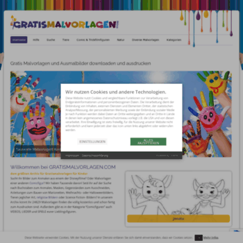 gratis malvorlagen kinder online