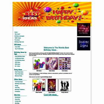 Great Happy Birthday Ideas Thumbnail