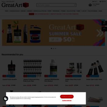 Greatart.co.uk thumbnail