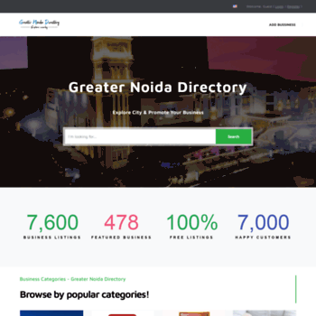 greaternoidadirectory com at WI  Greater Noida Directory