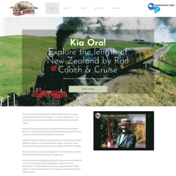 Greatnzsteamjourneys.co.nz thumbnail
