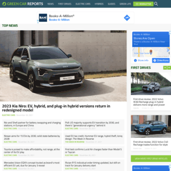 Green Car Reports >> Greencarreports Com At Wi Hybrid And Electric Car News And Reviews