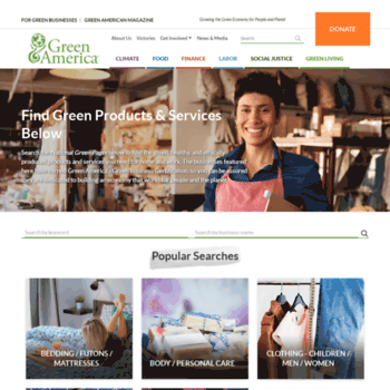 Greenpages.org thumbnail