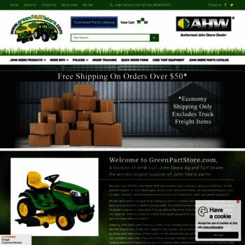 Greenpartstore John Deere Parts And More Parts For >> Greenpartstore Com At Wi Greenpartstore John Deere Parts