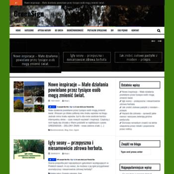 Greensign.pl thumbnail