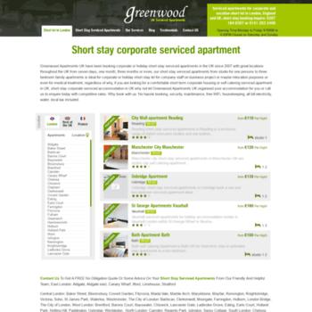Greenwoodapartments.co.uk thumbnail