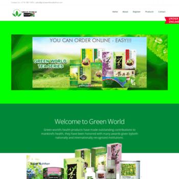 Greenworldsouthafrica Com At Wi Greenworld South Africa Natural