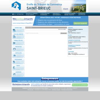 Greffe-tc-saintbrieuc.fr thumbnail