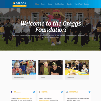 Greggsfoundation.org.uk thumbnail